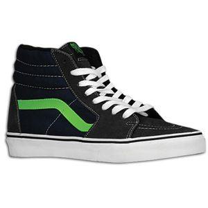 Vans Sk8 Hi   Mens   Skate   Shoes   Dark Shadow/Green Flash