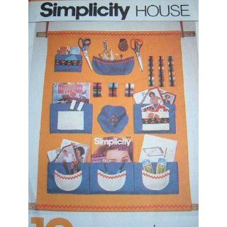 SIMPLICITY HOUSE #121   SEWING PATTERN FOR WALL UNIT