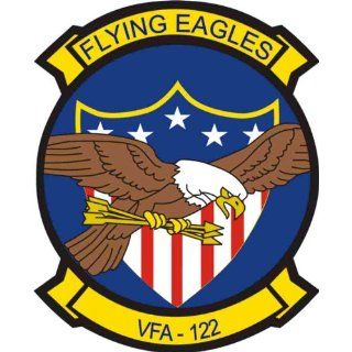 US Navy VFA 122 Flying Eagles Squadron Decal Sticker 3.8 6 Pack