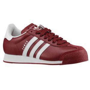 adidas Originals Samoa   Mens   Soccer   Shoes   Cardinal/White