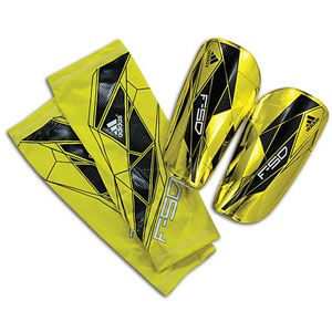 adidas F50 Pro Lite Guard   Soccer   Sport Equipment   Lab Lime/Black
