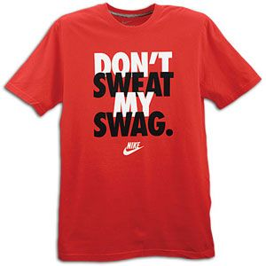 Nike Graphic T Shirt   Mens   Casual   Clothing   Red/White/Black