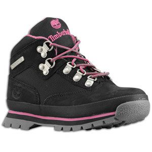 Timberland Euro Hiker   Girls Grade School   Casual   Shoes   Black