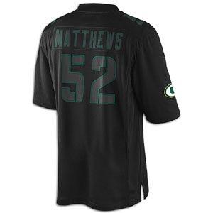 Nike NFL Impact Jersey   Mens   Clay Matthews   Green Bay Packers
