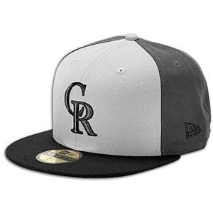 New Era MLB 59fifty Tri Pop Cap   Mens   Rockies   Grey/Black