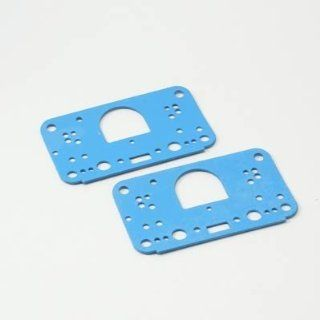 Holley 108 121 Blue Non Stick Metering Block Gasket   Pack of 2