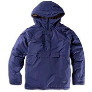 Stussy Force Pullover Jacket   Mens   Skate   Clothing   Navy