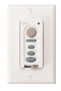 Hunter Ceiling Fan Light Dimming Wall Control White 27189