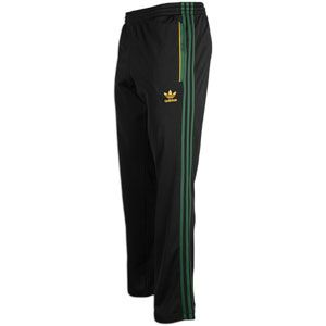 adidas Originals Superstar Track Pant   Mens   Black/Dark Green/Craft