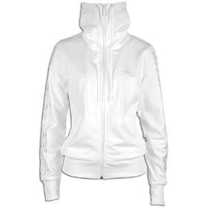 adidas Originals Rhinestone 3 Stripes Track Jacket   Womens   Casual