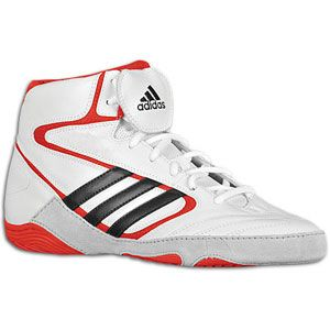 adidas Mat Wizard IV John Smith   Mens   Wrestling   Shoes   White