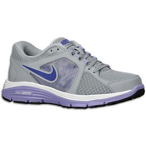 Nike Dual Fusion Run   Womens   Wolf Grey/Pure Earth/White/Night Blue