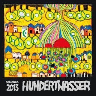 Hundertwasser Art 2013 Wall Calendar