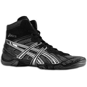 ASICS® Dan Gable Ultimate 2   Mens   Wrestling   Shoes   Black