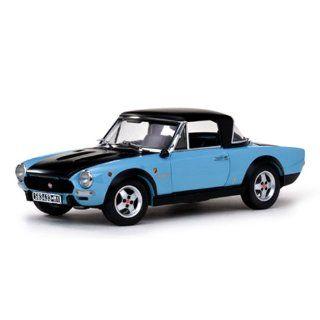1972 Fiat 124 Spider CSA Blue/Black 1/18 Item Number 4928
