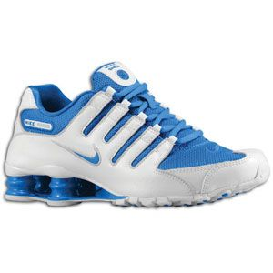 Nike Shox NZ   Womens   Running   Shoes   White/Soar