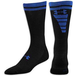 Under Armour Zagger Sock   Mens   Football   Accessories   Black