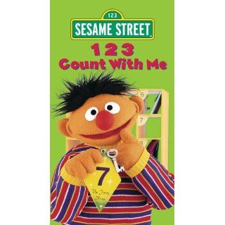 Sesame Street   123 Count With Me [VHS] Caroll Spinney
