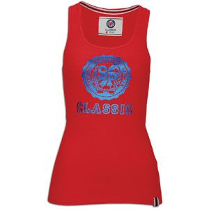 Southpole Logo Rib Tank   Womens   Casual   Clothing   Red