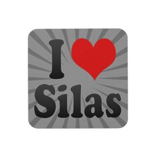 love Silas Coasters