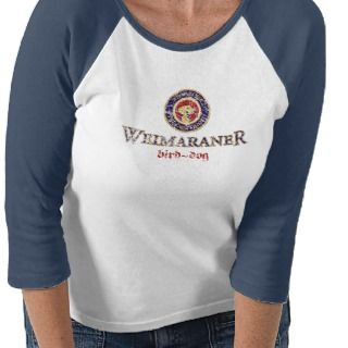 Weimaraner Bird Dog Paulaner Logo Folded Shirts