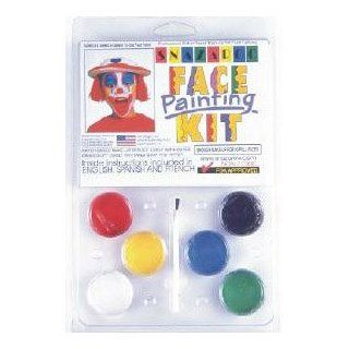 6 COLOR CLAM PACK PALLET Snazaroo Face Painting Pallet