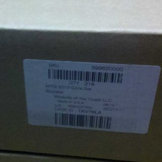 M13 2013 English Case Factory SEALED 6 Box Boxes Booster MTG Magic