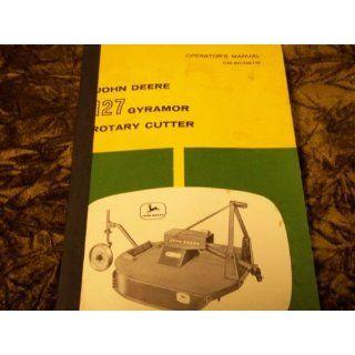 John Deere 127 Gyramor Rotary Cutter OMW11087W OEM OEM