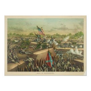 American Civil War Siege and Fall of Petersburg Poster