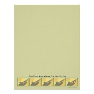 Whitetail Deer Buck Letterhead