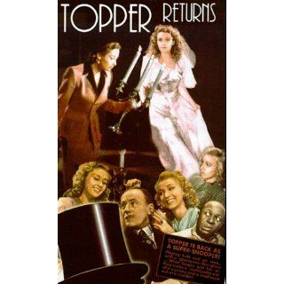 Topper Returns [VHS] Joan Blondell, Roland Young, Carole
