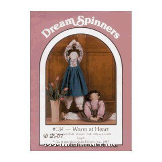 Dream Spinners Warm at Heart #134, Soft Sculpture doll Lynda S