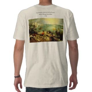 Bruegels Landscape with the Fall of Icarus   1558 Shirt