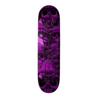 Viking skull cool skateboard
