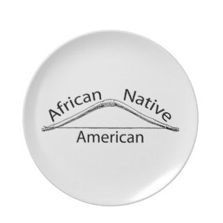 African Native American Plate