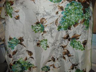 Green Hydrangeas Design Silk Scarf