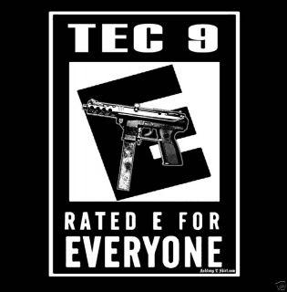 Tec 9 Funny Pro Gun AK47 M4 M16 Ar15 Firearms T Shirt