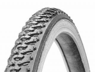 KrossCyclo Tread 27 x 1 3 8 Hybrid Bicycle Tire Black Tan New Bike