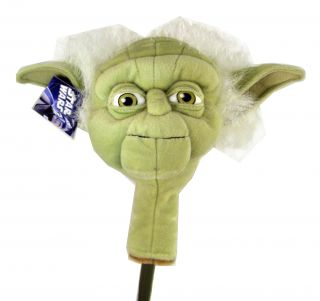 New Star Wars Yoda Jedi Putter Hybrid Golf Head Cover