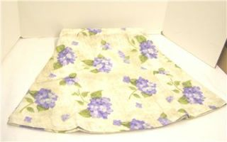 Tablecloth Hydrangea Purple Blue Flowers 54 x 54