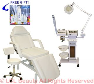 11 in 1 FACIAL MACHINE HYDRAULIC MASSAGE TABLE BED CHAIR BEAUTY SALON