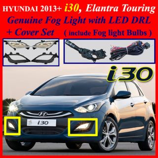 2013 Hyundai I30 Elantra Touring Fog Light Complete Kit Wiring Harness