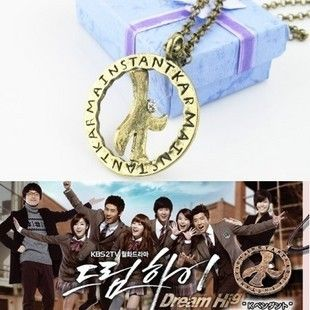 Korean 2PM Dream High Kim Hyun Joong K Lucky Star Necklace