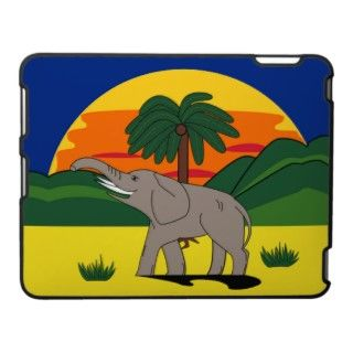 Gold Coast Elephant & Palm Tree Gift Tag Bookmark Business Cards
