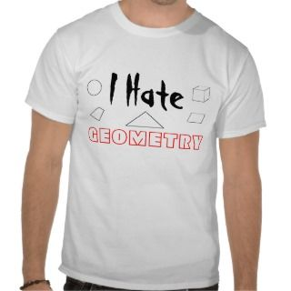 Hate Geometry T Shirt