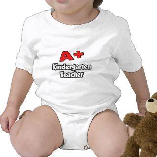 Plus Kindergarten Teacher Baby Bodysuits
