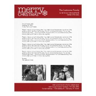 Christmas Letter Paper   Santa Claus Waving Letterhead Design
