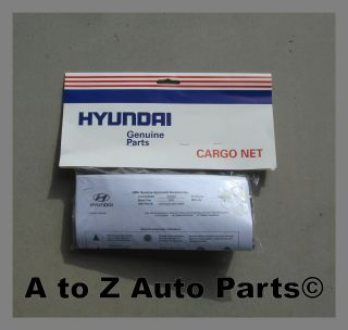 New 2007 2012 Hyundai Santa FE Trunk Cargo Net Hyundai
