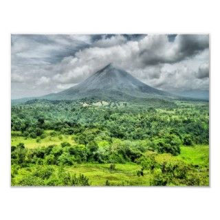 Arenal Volcano   Costa Rica Posters