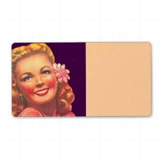 Rero Beach Blonde Golden Girl Shipping Labels